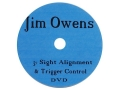 "Product detail of Jim Owens Video ""Sight Alignment and Trigger Control"" DVD"
