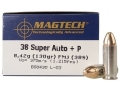 Product detail of Magtech Sport Ammunition 38 Super +P 130 Grain Full Metal Jacket