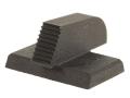 "Product detail of Kensight Front Sight 1911 Novak Cut Flat Base .190"" Height .115"" Width Steel Black Serrated Blade"