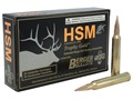 Product detail of HSM Trophy Gold Ammunition 7mm STW 168 Grain Berger Hunting VLD Hollow Point Boat Tail Box of 20