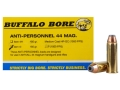 Product detail of Buffalo Bore Ammunition 44 Remington Magnum 180 Grain Jacketed Hollow Point Anti-Personnel Box of 20