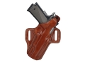Product detail of Galco Fletch Belt Holster Right Hand Ruger P85, P89, P90, P94 Leather Tan