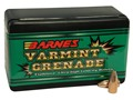 Product detail of Barnes Varmint Grenade Bullets 22 Hornet (224 Diameter) 30 Grain Hollow Point Lead-Free