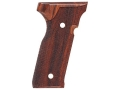 Product detail of Hogue Fancy Hardwood Grips Beretta Cougar 8045 Checkered Cocobolo