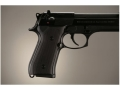 Product detail of Hogue Extreme Series Grip Beretta 92F, 92FS, 92SB, 96, M9 Checkered Aluminum Matte Black