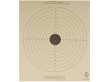 Product detail of NRA Official Air Rifle Training Targets TQ-18 10 Meter Training Paper Package of 100