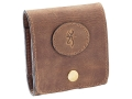 Product detail of Browning Crazy Horse Leather 10 Cartridge Case