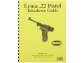 "Product detail of Radocy Takedown Guide ""Erma 22 Pistol"""