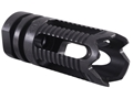 "Product detail of Yankee Hill Machine Flash Hider Phantom 5C2 Aggressive  1/2""-28 Thread AR-15 Parkerized"