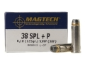 Product detail of Magtech Sport Ammunition 38 Special +P 125 Grain Semi-Jacketed Hollow Point