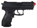 Product detail of HK P30 Airsoft Pistol 6mm BB Electric Select Fire Polymer Black