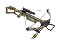 Product detail of Carbon Express X-Force 300 DX Crossbow Package with 4x 32 Multi-Reticle Scope Mossy Oak Camo