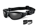 Product detail of Wiley X SG-1 Tactical Goggles with Controlled Ventilation Clear, Smoke Lenses