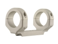 "Product detail of DNZ Products Game Reaper 1-Piece Scope Base with 1"" Integral Rings Ruger 10/22 Silver Low"