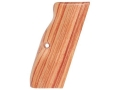 Product detail of Hogue Fancy Hardwood Grips with Accent Stripe, Finger Grooves and Con...