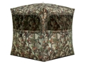 "Product detail of Barronett Grounder 350 Ground Blind 90"" x 90"" x 80"" Polyester Bloodtrail Camo"