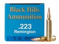 Product detail of Black Hills Remanufactured Ammunition 223 Remington 75 Grain Match Hollow Point Box of 50