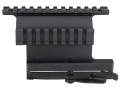 Product detail of Leapers UTG 5th Generation Quick Detachable Picatinny-Style Double Rail Mount AK-47 Matte