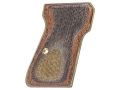 Product detail of Hogue Fancy Hardwood Grips Walther PP, PPK/S Checkered Lamo Camo