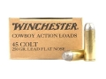 Product detail of Winchester USA Cowboy Ammunition 45 Colt (Long Colt) 250 Grain Lead Flat Nose
