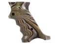 Product detail of Volquartsen Laminated Wood Target Grips Ruger Mark III Right Hand Green