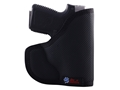 Product detail of DeSantis Nemesis Pocket Holster Ambidextrous Colt New Agent Nylon Black
