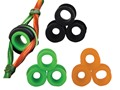 Product detail of Apex Gear Versa Peep Sight System Green, Orange and Black