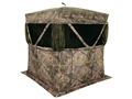 "Product detail of Browning Phantom Ground Blind 74"" x 74"" x 70"" Polyester Realtree Xtra Camo with ALPS Firelight 240 Lumen Flashlight"
