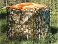 Product detail of Barronett Hub Ground Blind Cover Polyester Blaze Orange