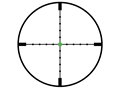 Product detail of Trijicon AccuPoint TR22-2G Rifle Scope 30mm Tube 2.5-10x 56mm Dual-Illuminated Mil-Dot with Green Dot Reticle Matte