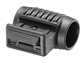 "Product detail of Mako Tactical Picatinny Rail Side Flashlight Mount 1"" Ring Diameter Polymer Black"