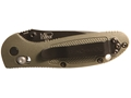 "Product detail of Benchmade 557 Mini-Griptilian Folding Knife 3"" 154CM Stainless Steel Tanto Blade Polymer Handle"