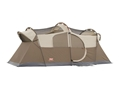 "Product detail of Coleman WeatherMaster 10 Man Cabin Tent 204"" x 108"" x 80"" Polyester Gray and Tan"