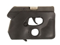 Product detail of DeSantis Pocket Shot Holster Ambidextrous S&W Bodyguard 380 Leather Black