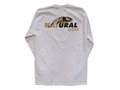 Product detail of Natural Gear Men's Logo T-Shirt Long Sleeve Cotton