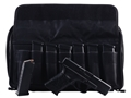 Product detail of MidwayUSA Pro Series Tactical Pistol Case PVC Coated Polyester Gray and Black