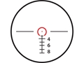 Product detail of Valdada IOR Spartan Tactical Rifle Scope 35mm Tube 2-12x 36mm Illuminated CQB Reticle Matte with Medium Picatinny-Style Rings