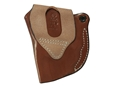 Product detail of DeSantis Mini Scabbard Belt Holster Ruger LCR with Lasermax Centerfire Leather