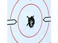 "Product detail of Birchwood Casey Shoot-N-C White/Black Targets 12"" Sight-In Package of 5"