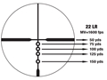 Product detail of Nikon P-22 Rimfire Rifle Scope 2-7x 32mm 1/2 MOA Adjustments BDC 150 Reticle Matte