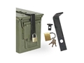 Thumbnail Image: Product detail of Voodoo Tactical Ammo Can Lock System Steel Black