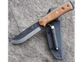 "Product detail of TOPS Knives B.O.B. Fieldcraft Fixed Blade Knife 4.5"" Drop Point 1095 High Carbon Alloy Blade Canvas Micarta Handle Tan"