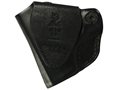 Product detail of DeSantis Mini Scabbard Outside the Waistband Holster Right Hand Smith & Wesson M&P Shield Leather Black