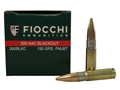 Thumbnail Image: Product detail of Fiocchi Shooting Dynamics Ammunition 300 AAC Blac...