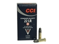 Product detail of CCI Standard Velocity Ammunition 22 Long Rifle 40 Grain Lead Round Nose