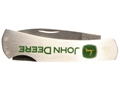 "Product detail of Case John Deere Executive Lockback Folding Knife 2.25"" Drop Point Stainless Steel Blade"