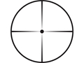 Product detail of Leupold FX-3 Silhouette Rifle Scope 25x 40mm Adjustable Objective 1/2 Min Leupold Dot Reticle Matte