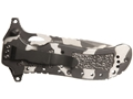 "Product detail of Boker Plus Camo Defender Folding Knife 3.375"" Serrated Drop Point 440C Stainless Steel Blade Aluminum Handle Camo"