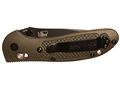 "Product detail of Benchmade 551 Griptilian Folding Knife 3.5"" 154CM Stainless Steel Drop Point Blade Polymer Handle"