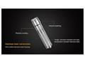 Thumbnail Image: Product detail of Fenix E05SS Flashlight LED with 1 AAA Battery Alu...